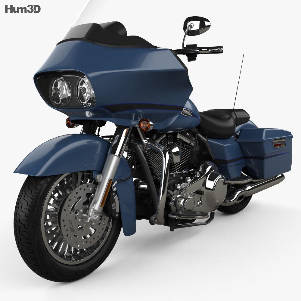Harley-Davidson FLTR Road Glide 2009 3d model