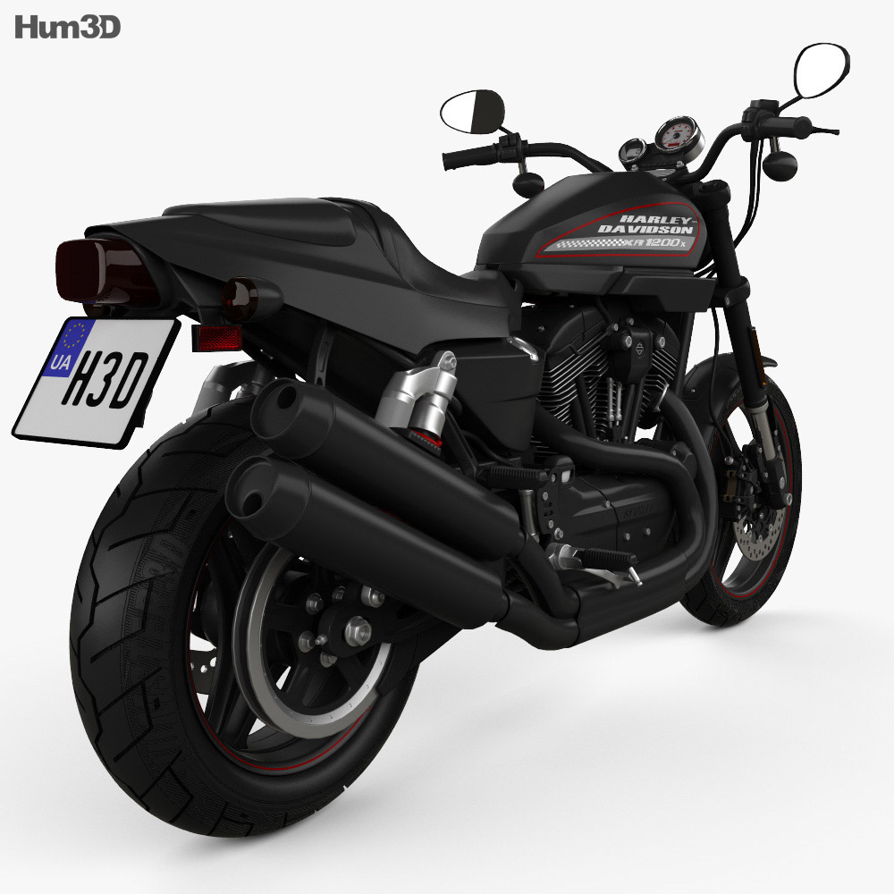 Harley-Davidson Sportster  XR1200X 2012 3d model