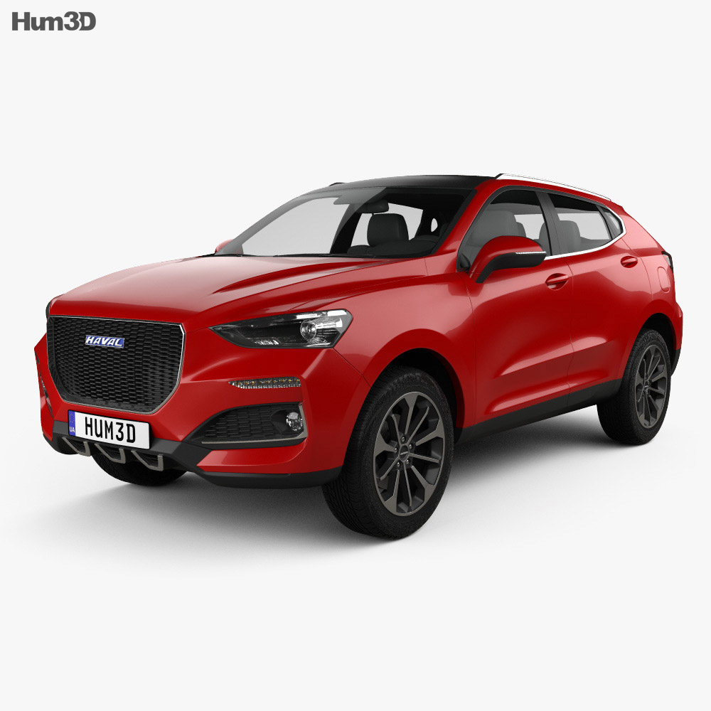 Haval F5 2018 3d model