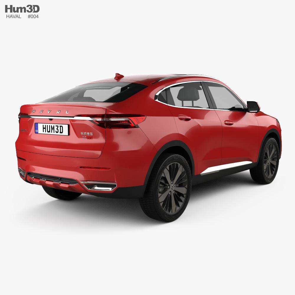 Haval F7x 2019 3d model