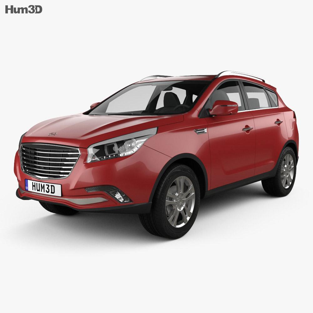 Hawtai Laville 2019 3d model