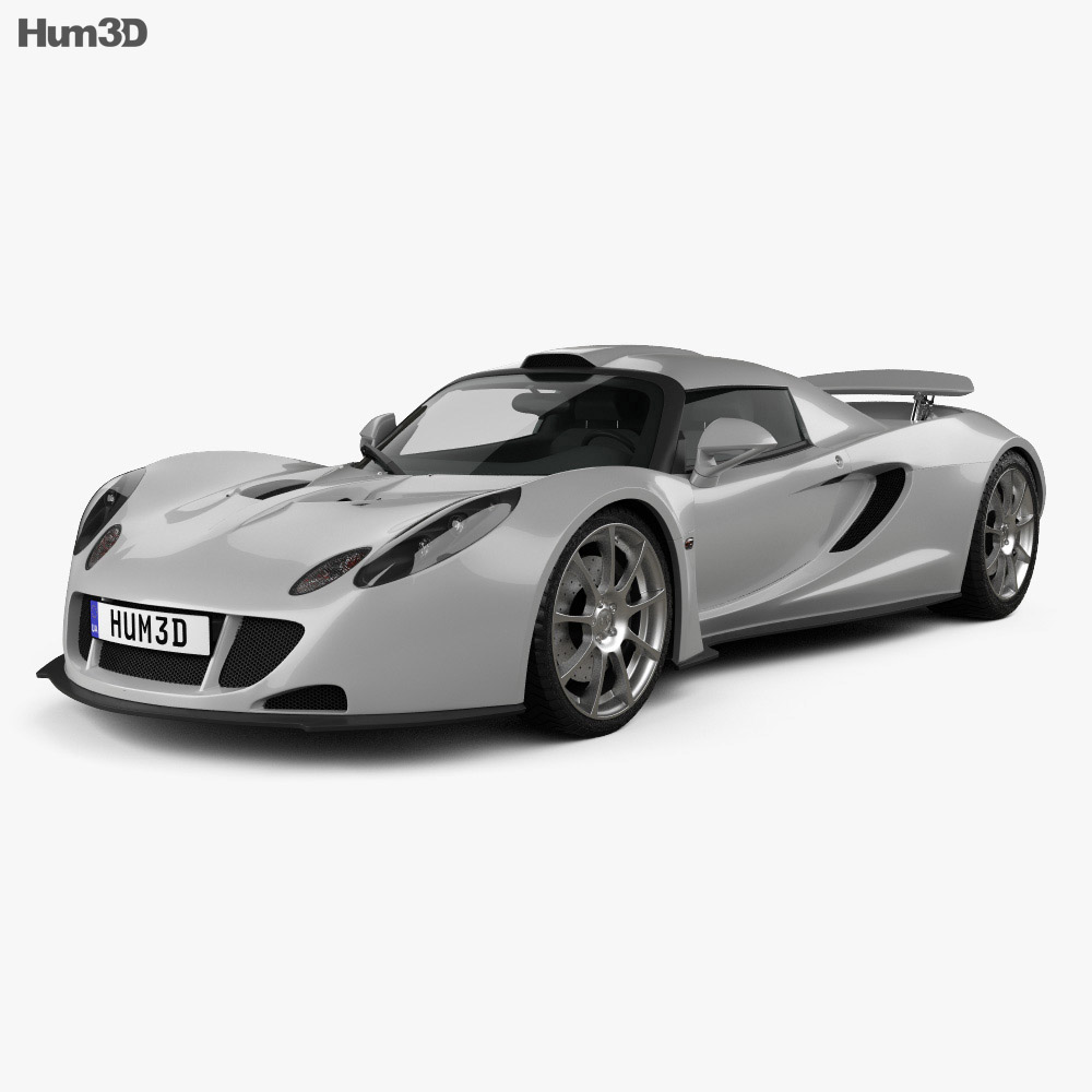 Hennessey Venom GT 2012 3d model