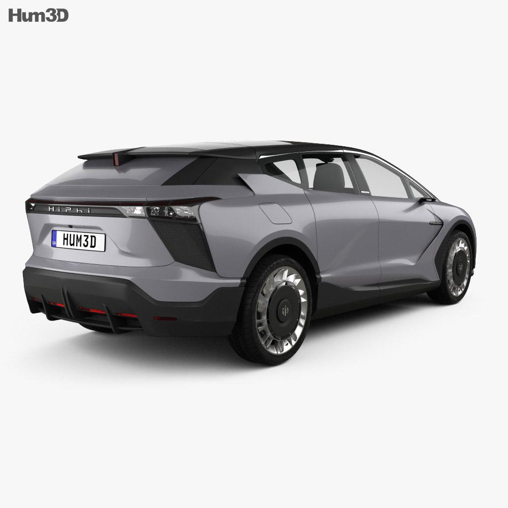 HiPhi 1 2020 3d model