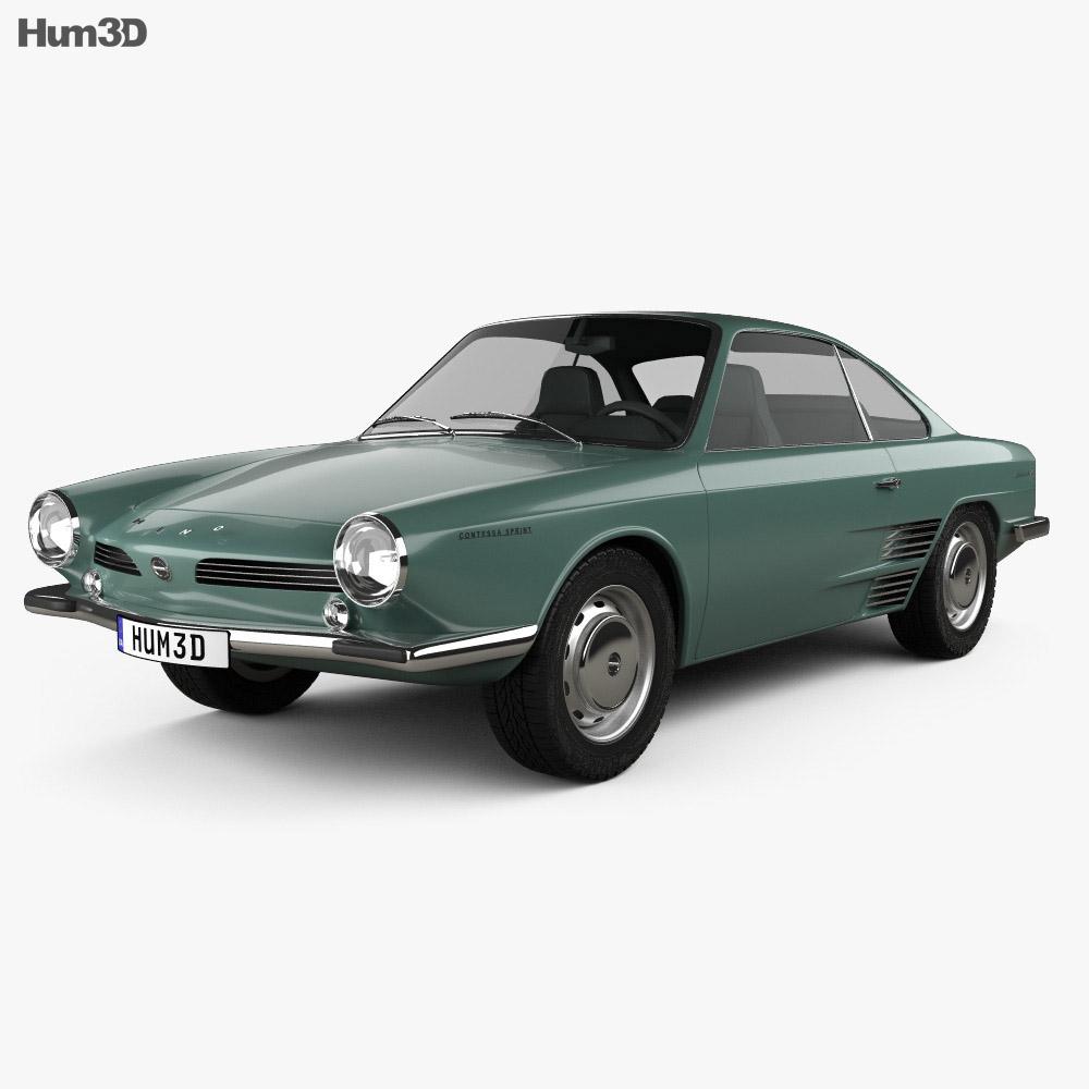 Hino Contessa 900 Sprint 1961 3d model