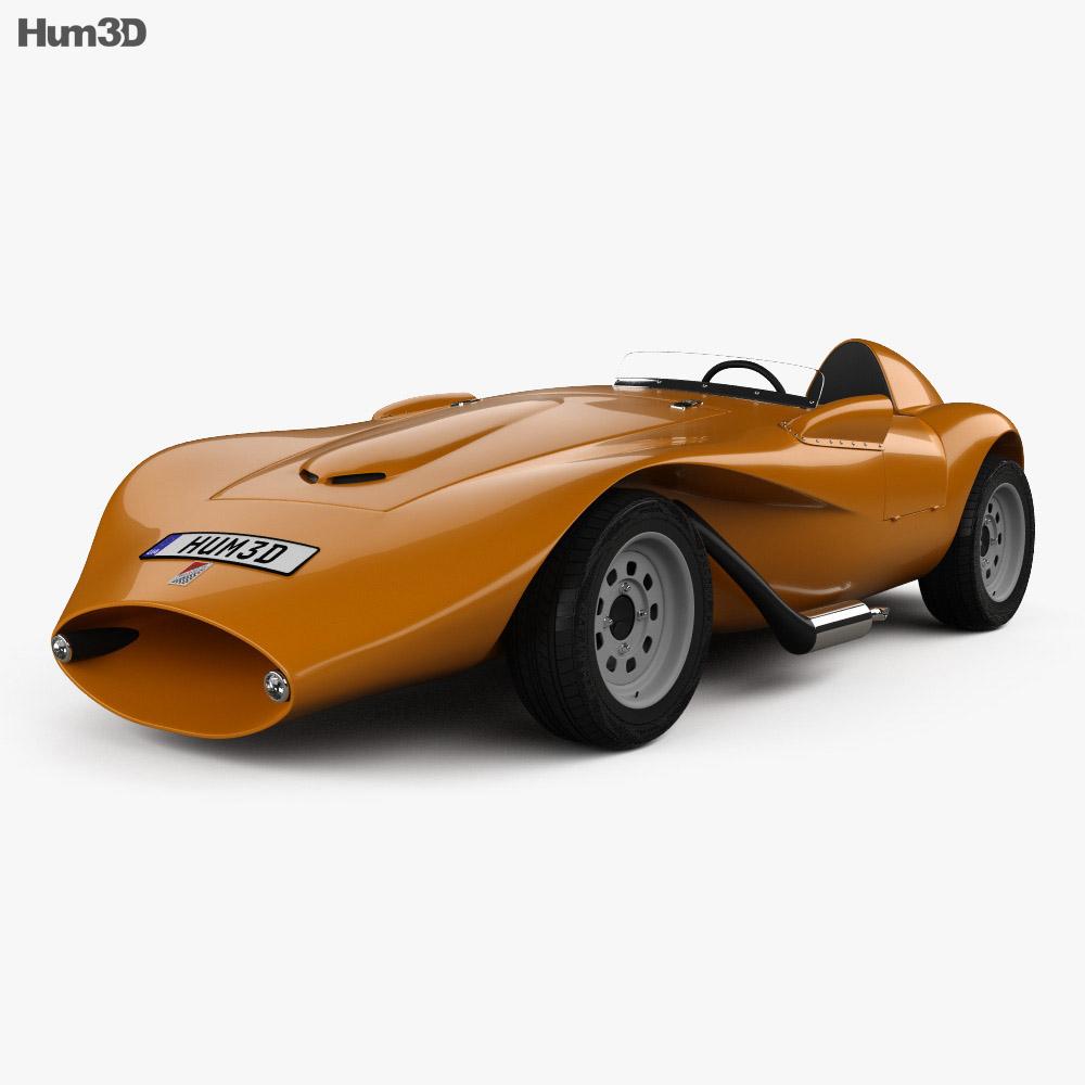 3D model of Hirondelle 1958