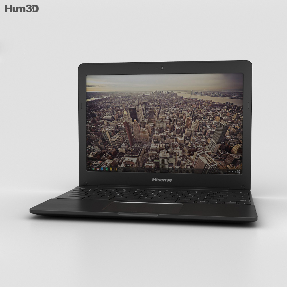 Hisense Chromebook Black 3d model