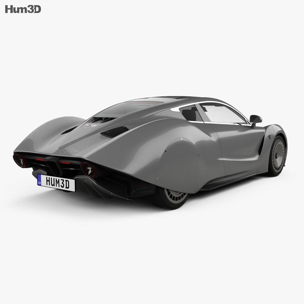 Hispano-Suiza Carmen 2019 3d model