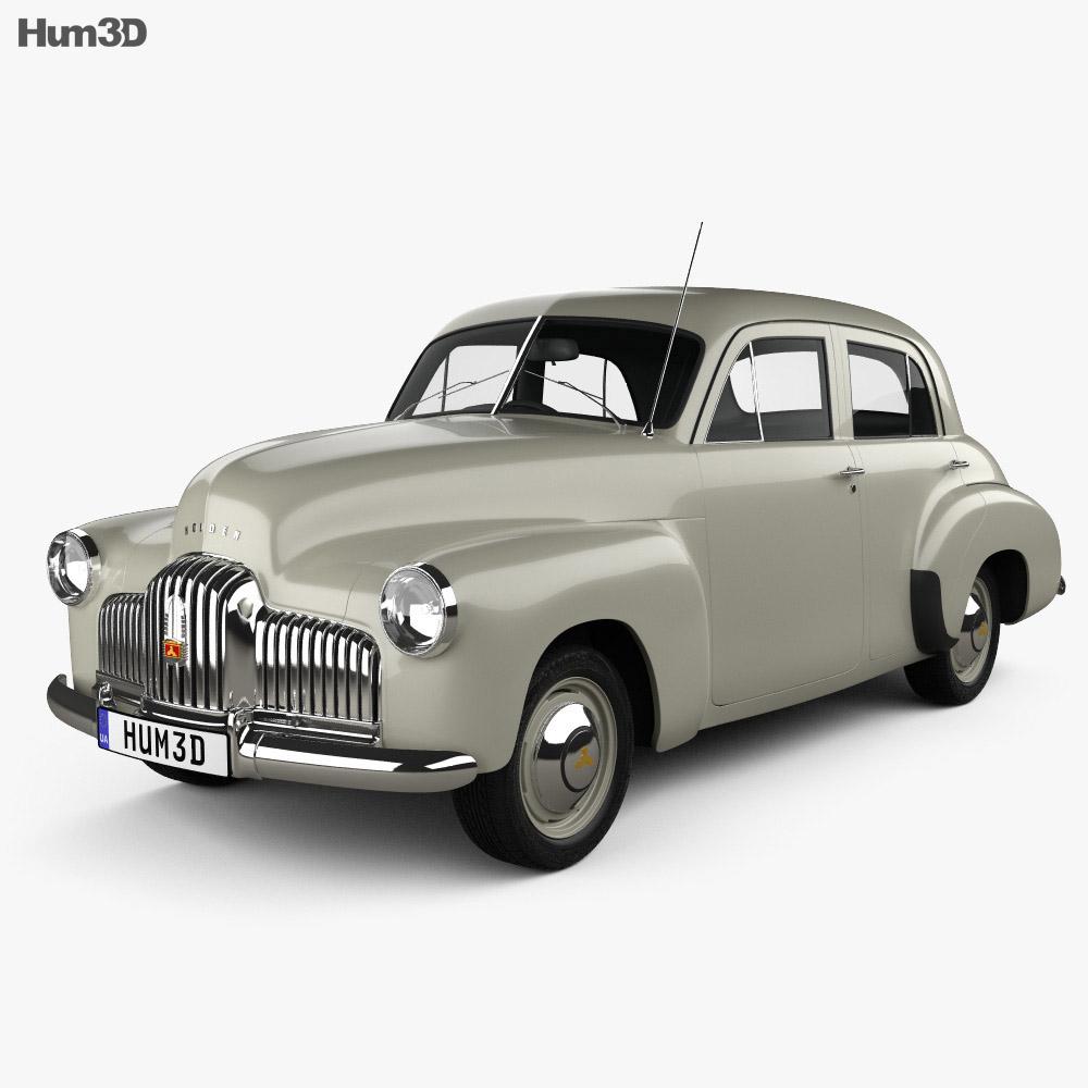 Holden 48-215 sedan 1948 3d model