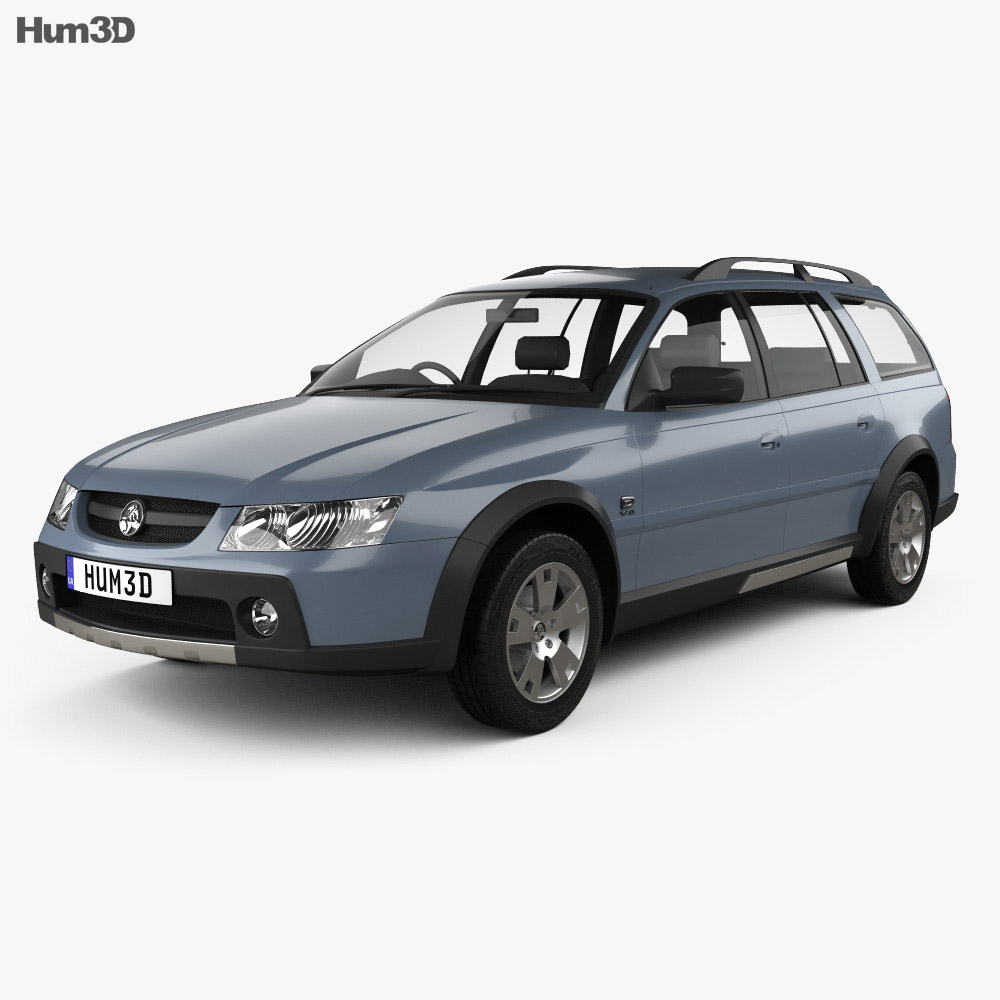 Holden Adventra LX6 (VZ) 2005 3d model