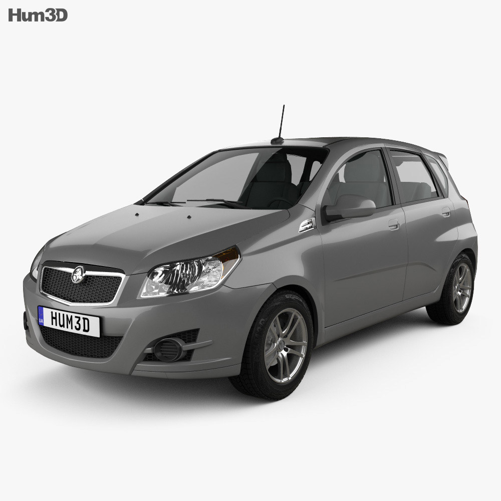 Holden Barina (TK) hatchback 2008 3d model