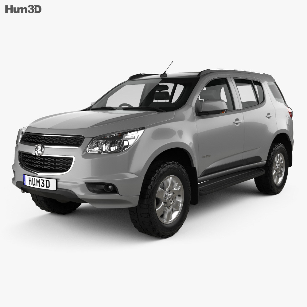 Holden Colorado 7 2012 3d model