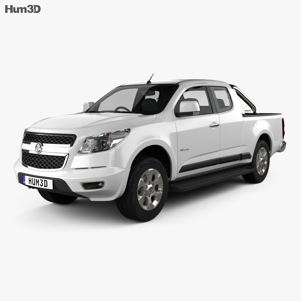 Holden Colorado LTZ Space Cab 2012 3d model