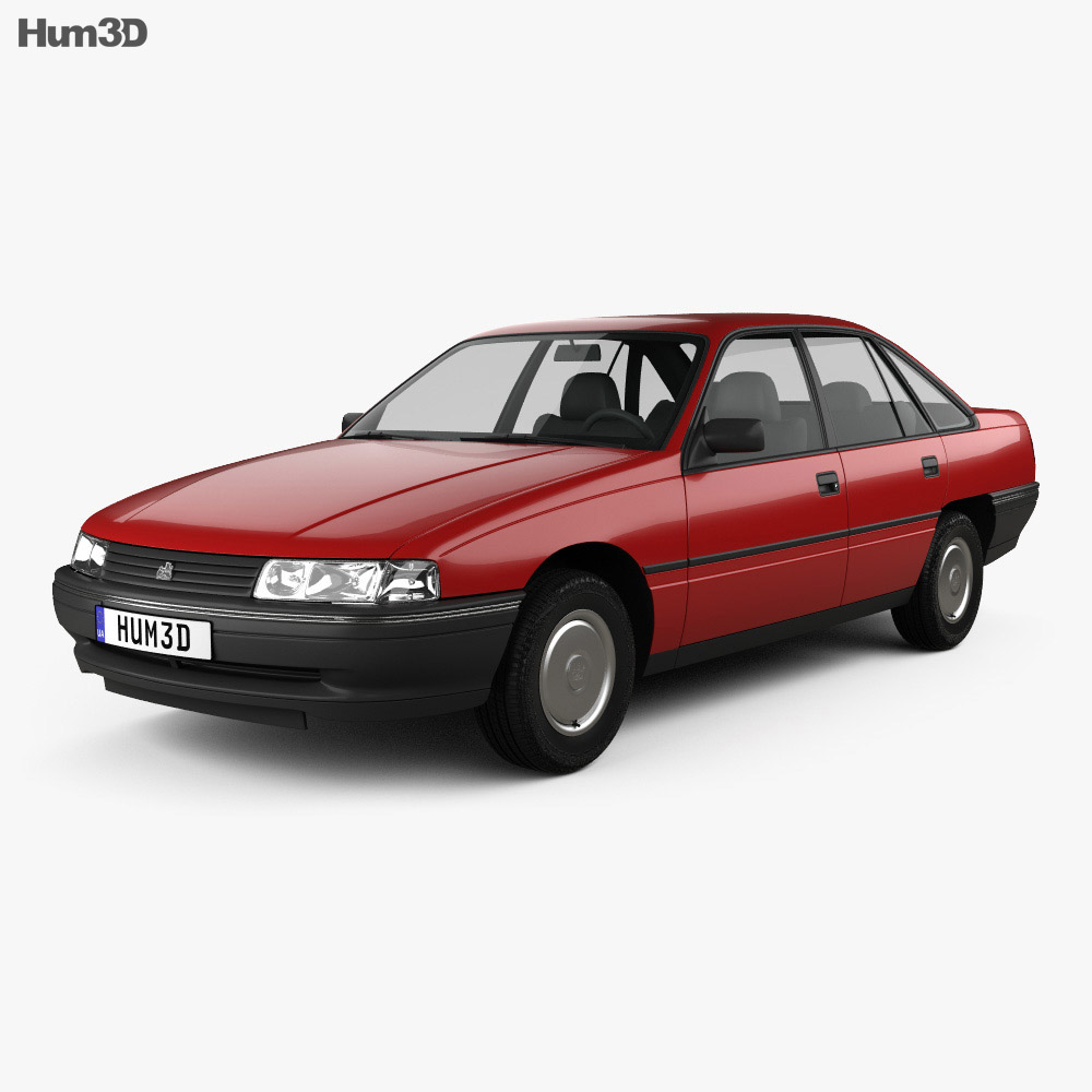Holden Commodore 1988 3d model
