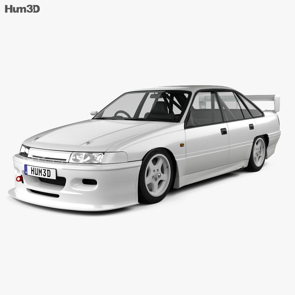Holden Commodore Touring Car 1993 3d model