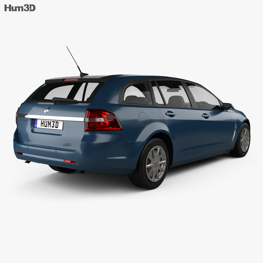 Holden Commodore Evoke sportwagon 2013 3d model