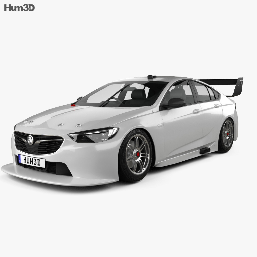 Holden Commodore (ZB) Supercar V8 2017 3D Model