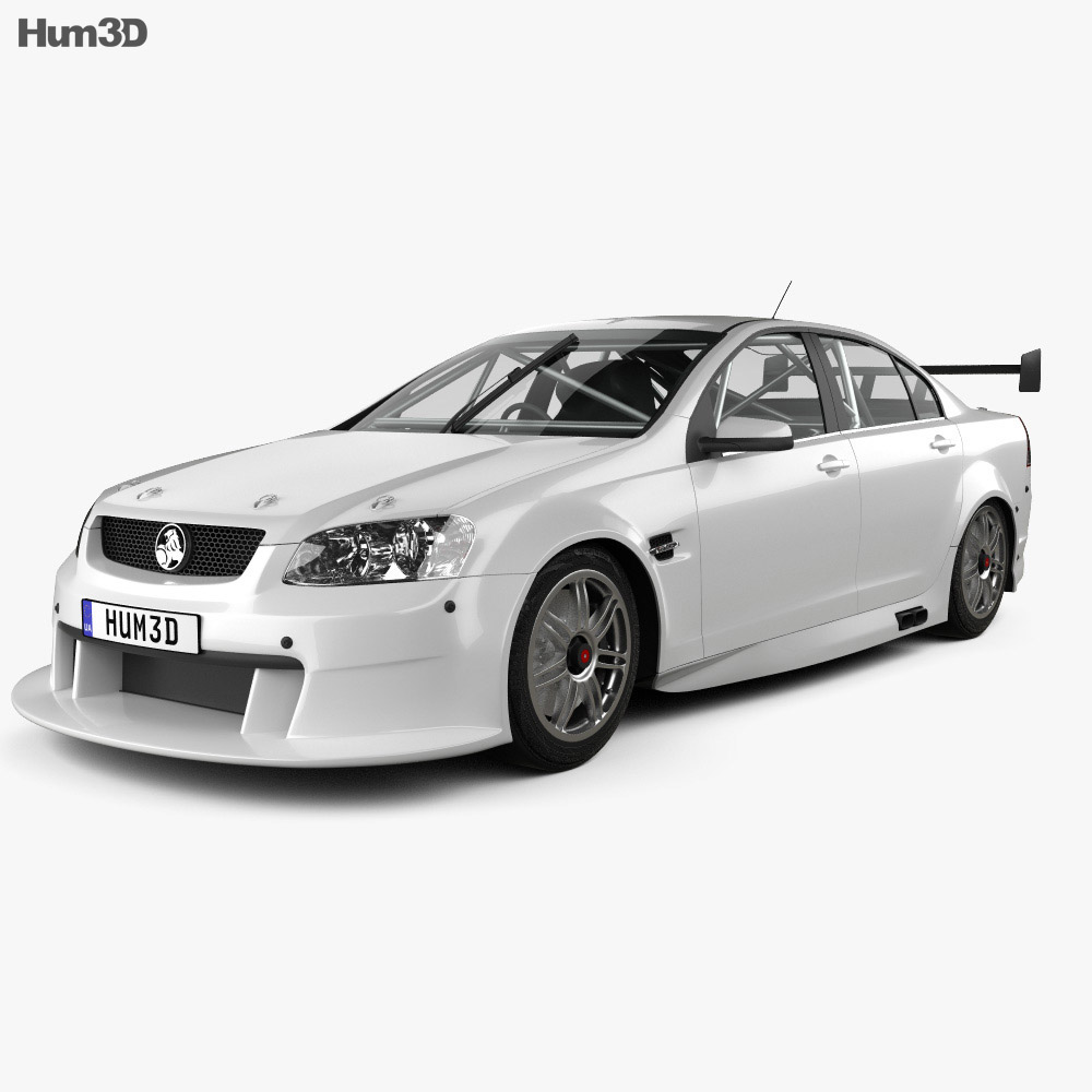 Holden Commodore V8 Supercar 2012 3d model