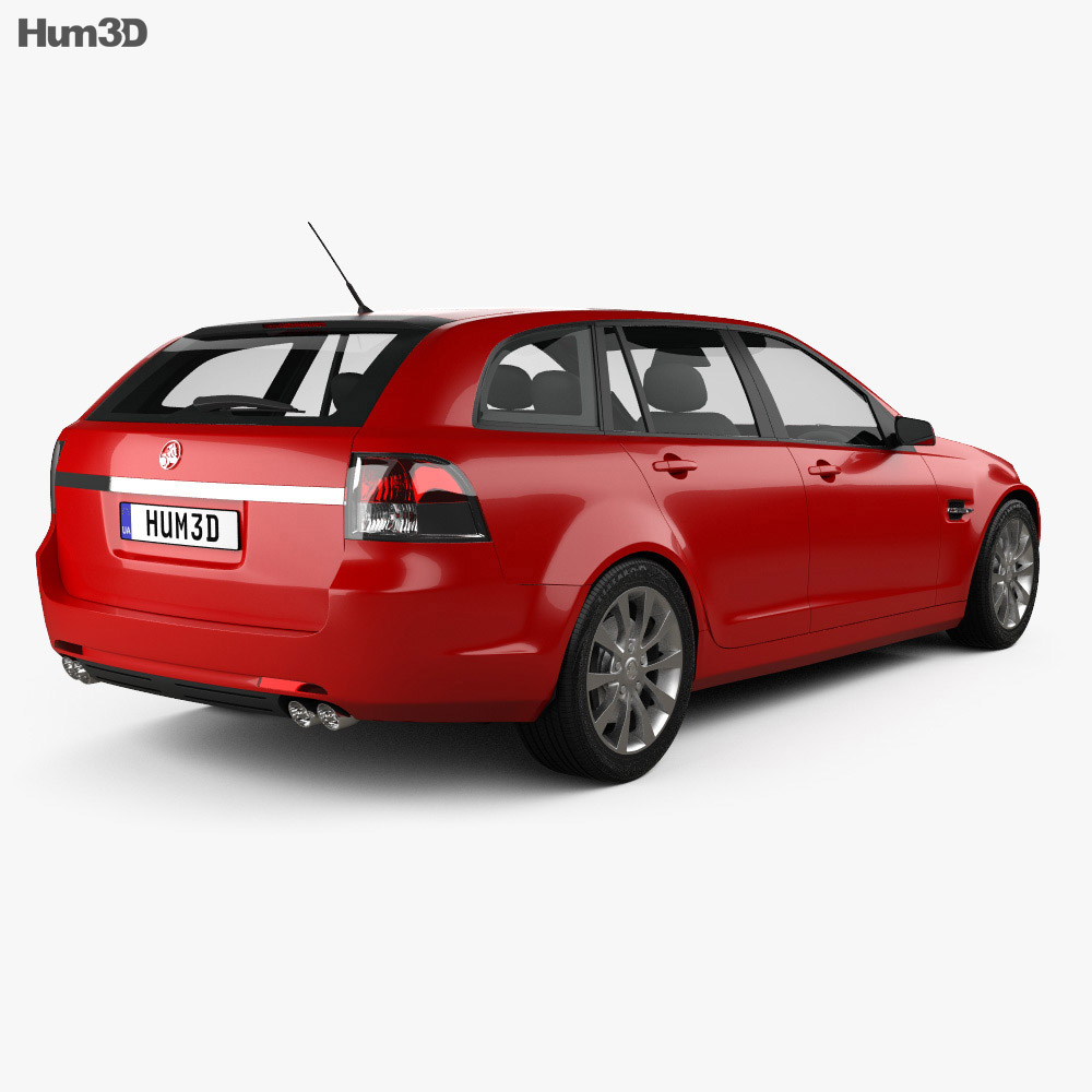 Holden VE Commodore Sportwagon 2012 3d model