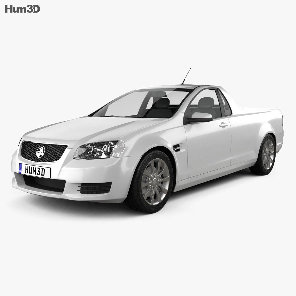Holden VE Commodore UTE 2012 3d model
