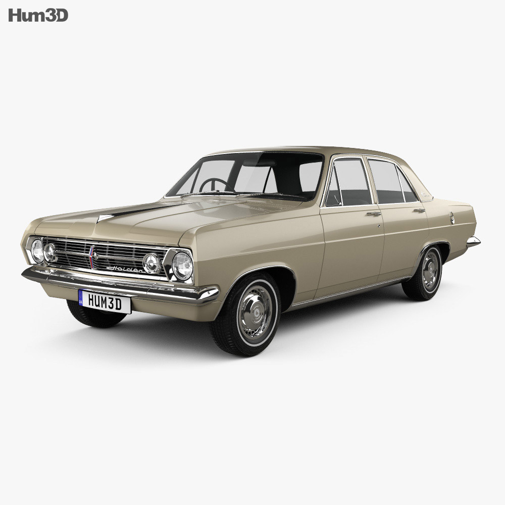 Holden HR Premier 1966 3d model