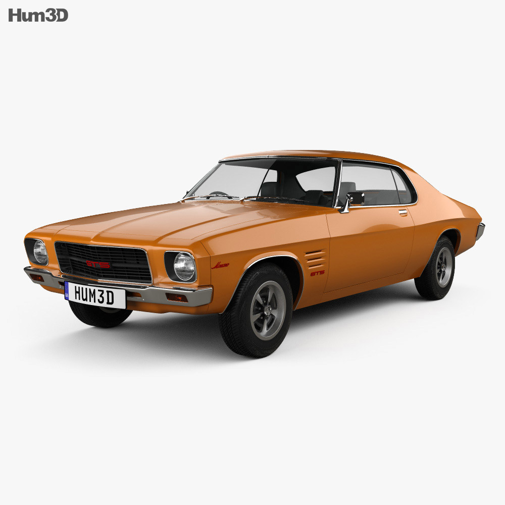 Holden Monaro GTS 350 Coupe 1971 3d model