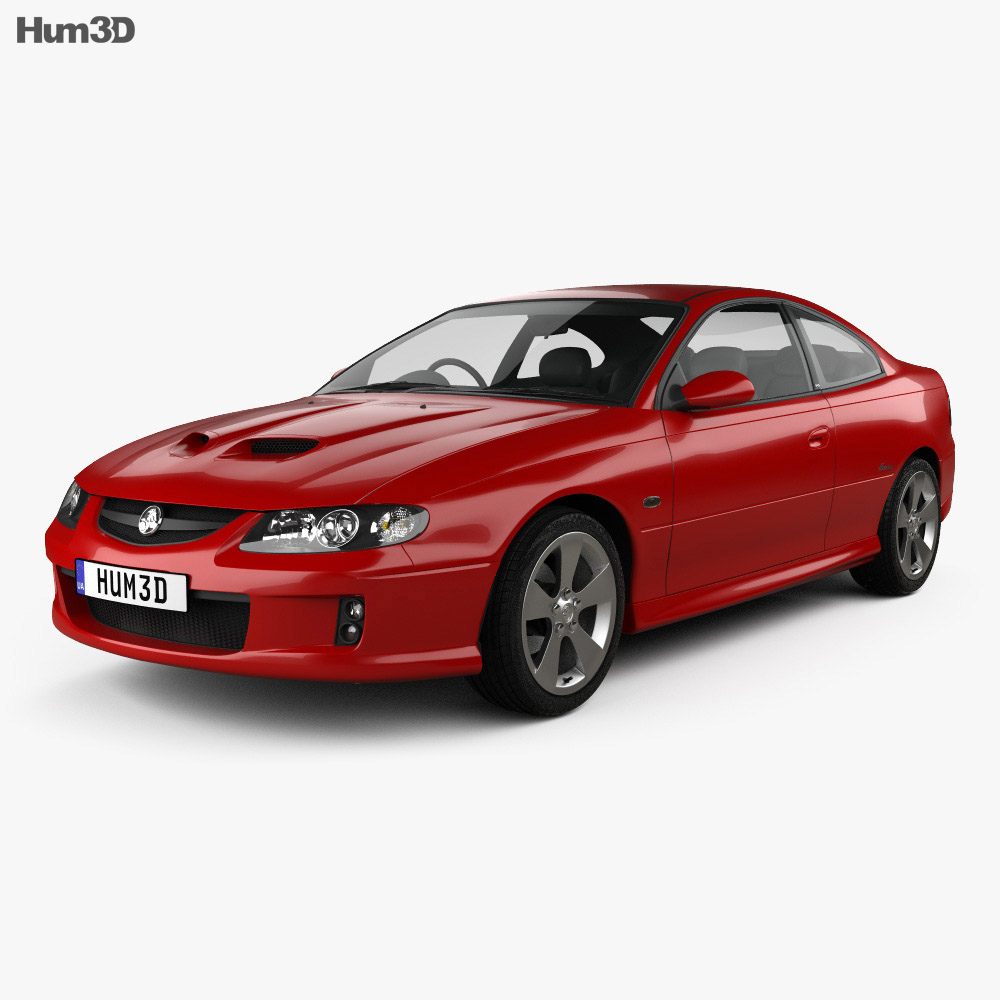 Holden Monaro (VZ) CV8-Z 2005 3d model