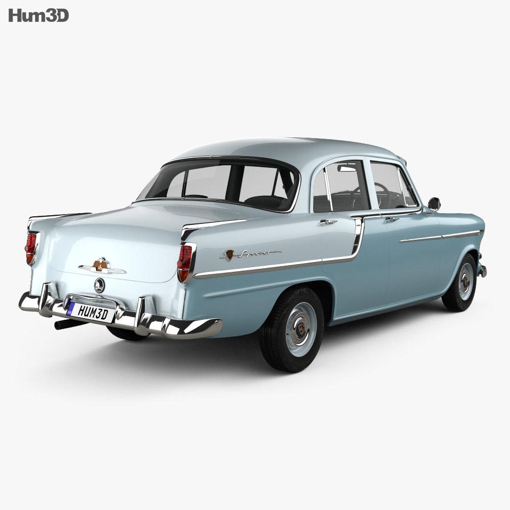 Holden Special 1958 3d model