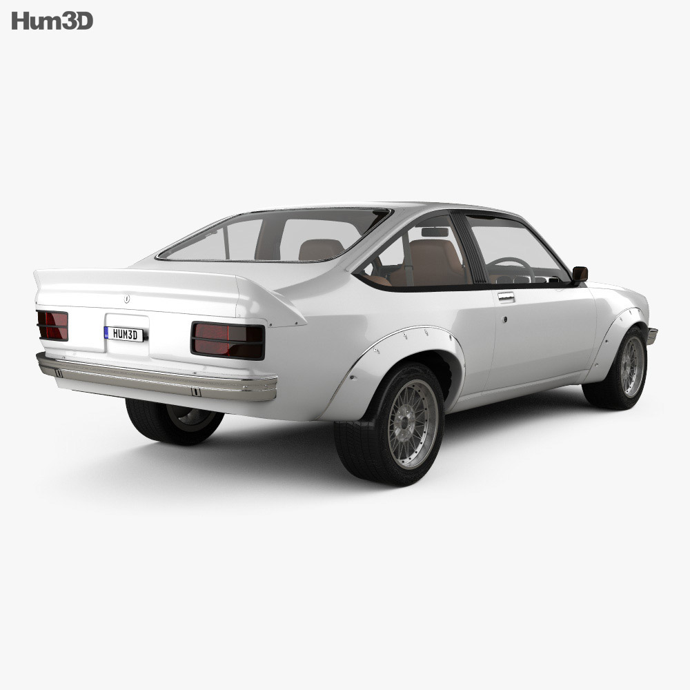 Holden Torana A9X with HQ interior 1977 3d model