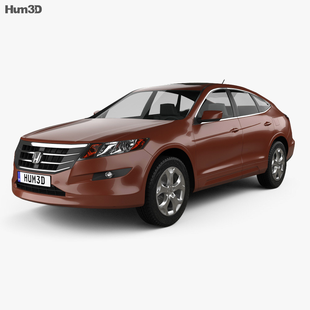 Honda Accord Crosstour 2010 3d model