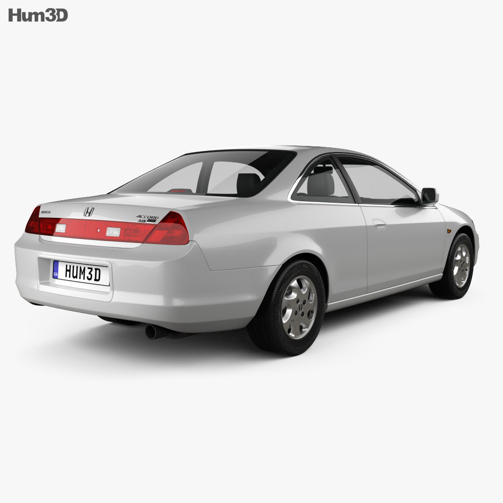 Honda Accord coupe 1998 3d model