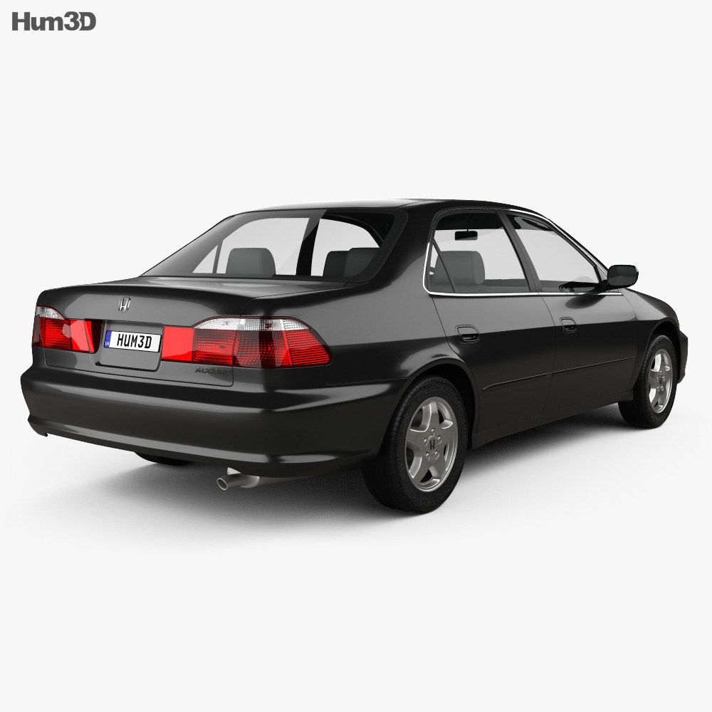 Honda Accord EX (US) 1998 3d model