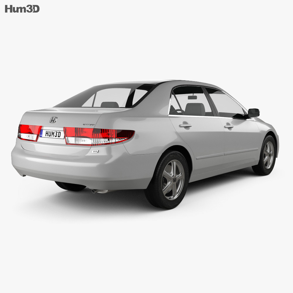 Honda accord 2004 3d model hum3d for Honda accord base model