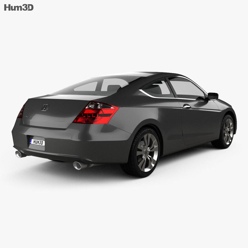 Honda Accord (CS) EX-L coupe 2008 3d model