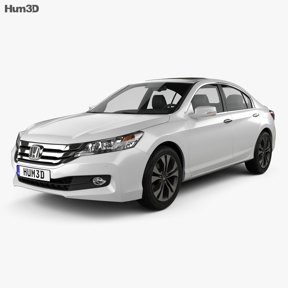 Honda Accord (CN) 2013 3d model