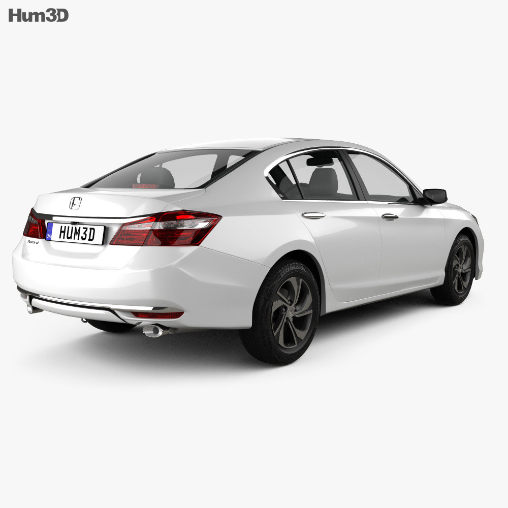 Honda accord lx 2016 3d model hum3d for Honda 2016 models