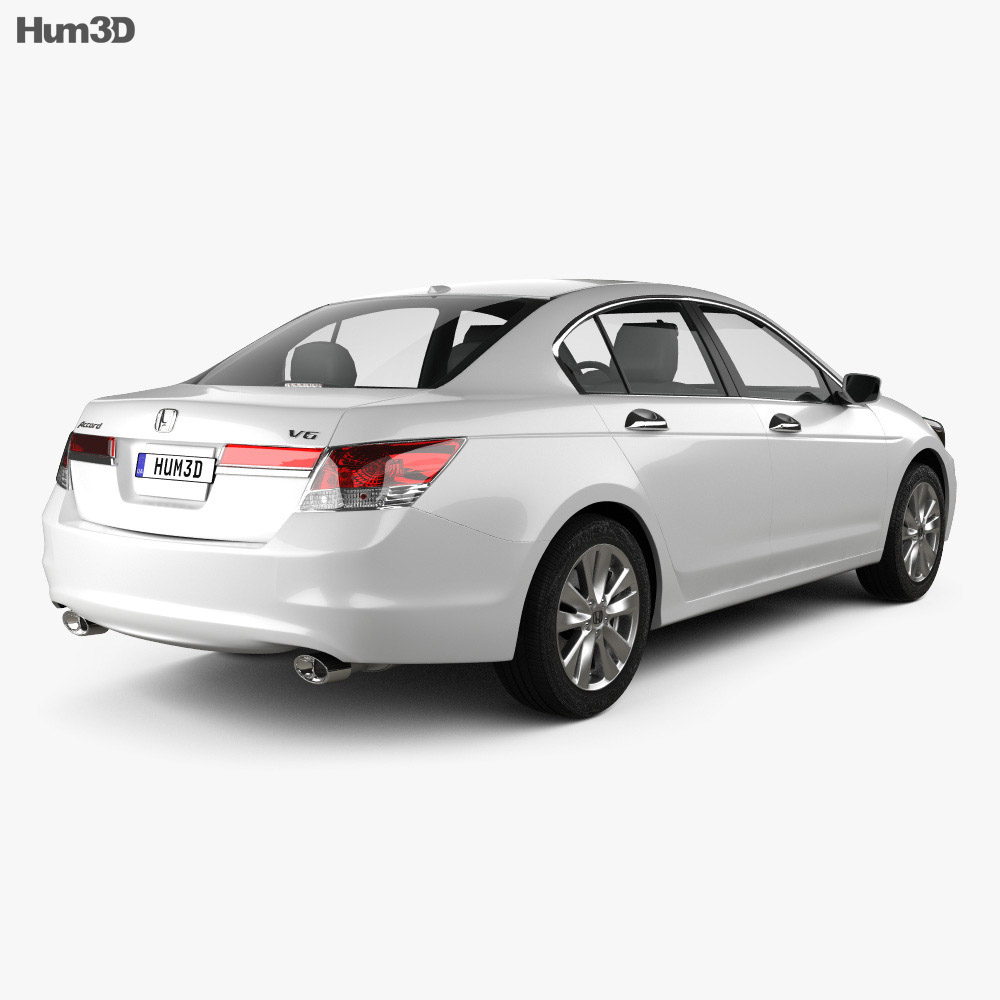 Honda Accord Sedan 2012 3d model