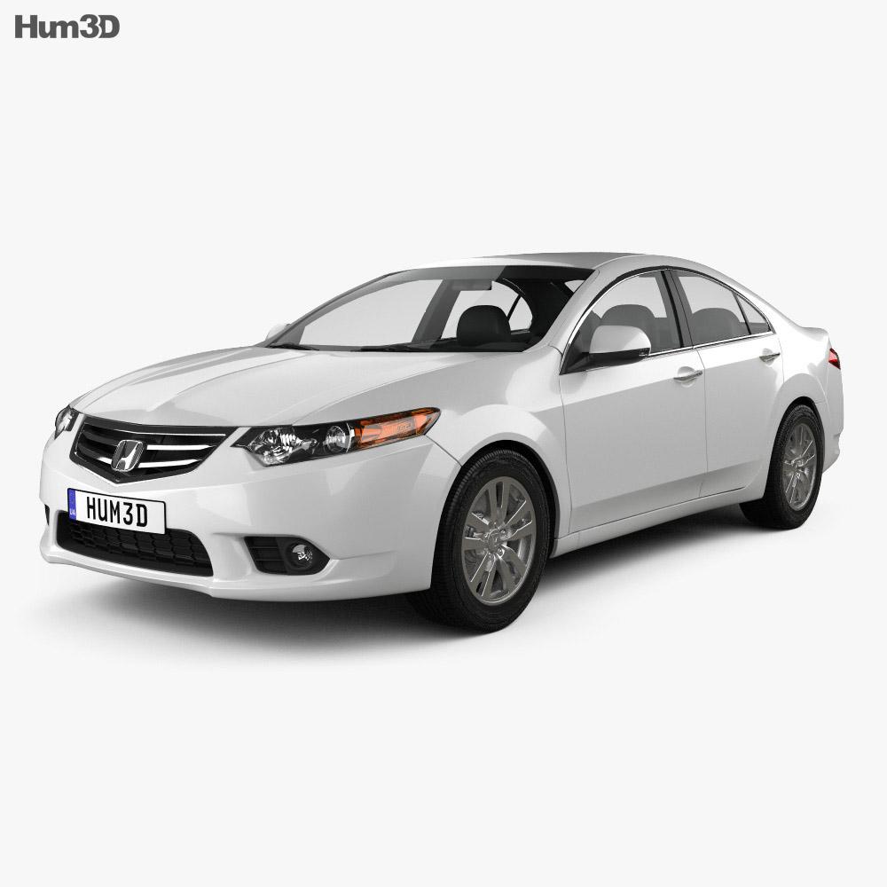 Honda Accord Sedan 2011 3d model