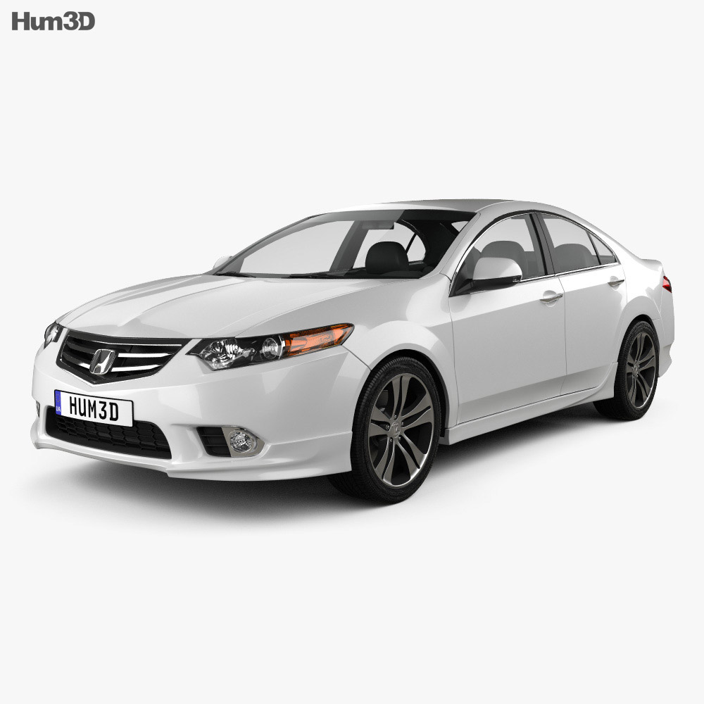 Honda Accord Sedan Type S 2011 3d model