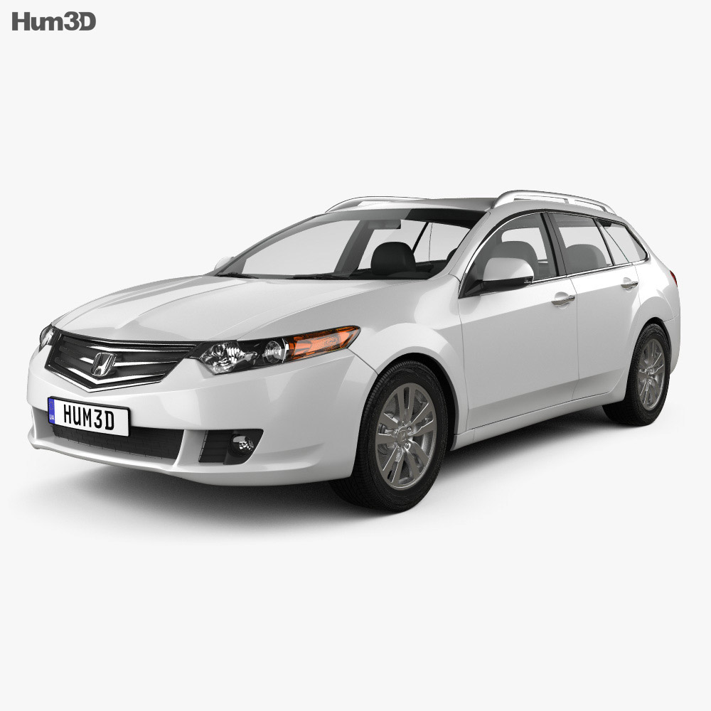 Honda Accord Tourer 2009 3d model