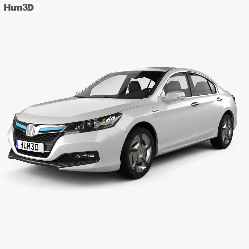 Honda Accord PHEV 2014 3d model
