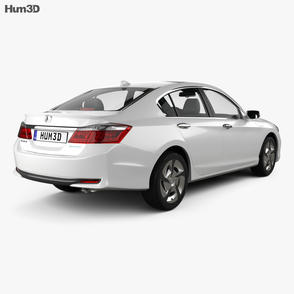Honda Accord Phev 2014 3d Model Vehicles On Hum3d