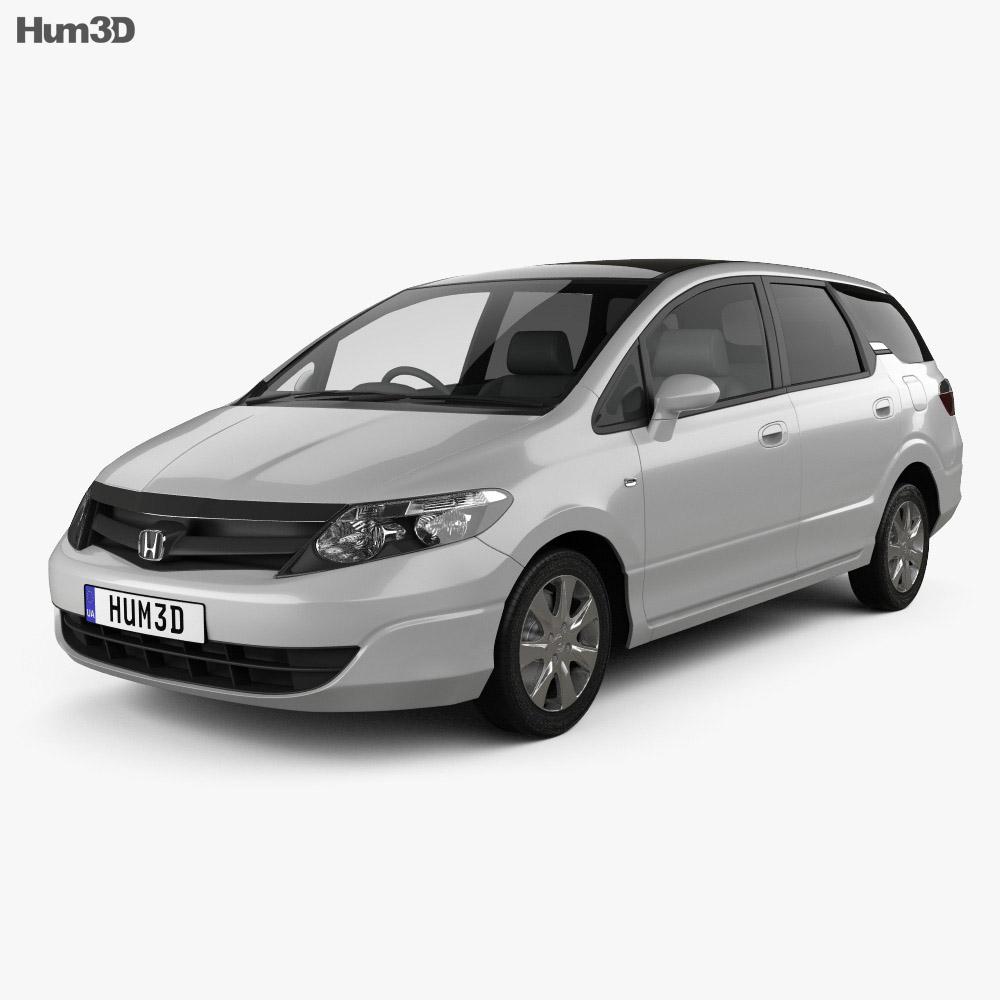 Honda Airwave 2005 3d model