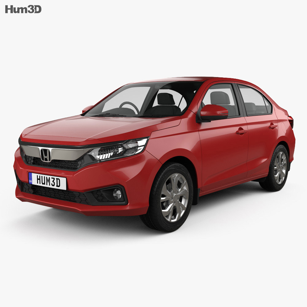 Honda Amaze 2018 3D Model