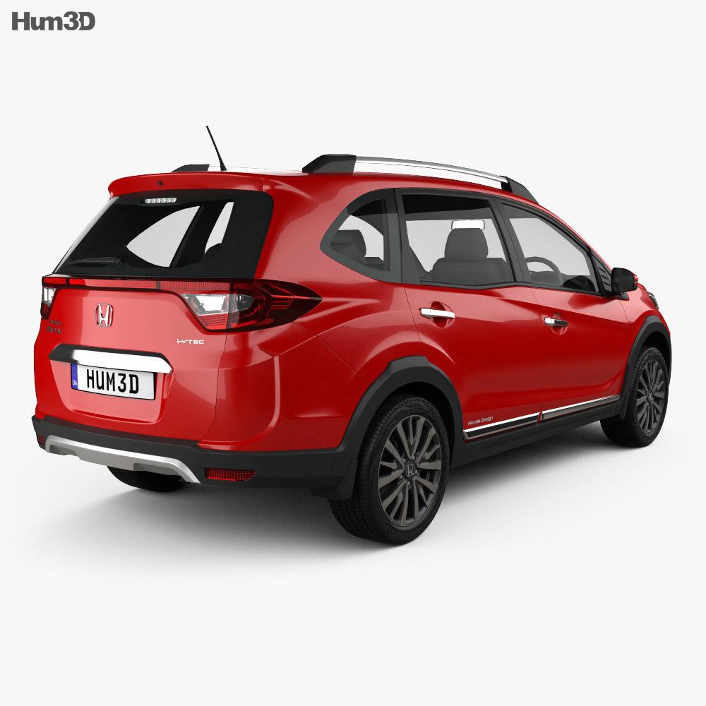 Honda BR-V 2016 3d model