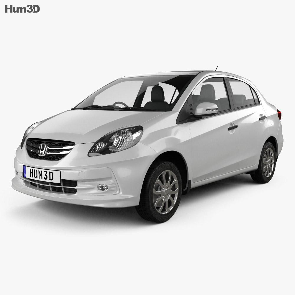 Honda Brio Amaze 2012 3d model