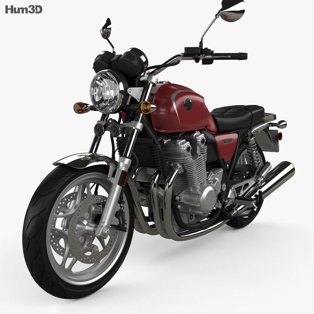 Honda CB 1100 2010 3d model