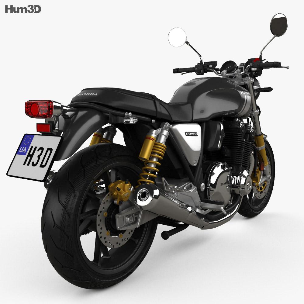 Honda CB1100RS 2018 3d model