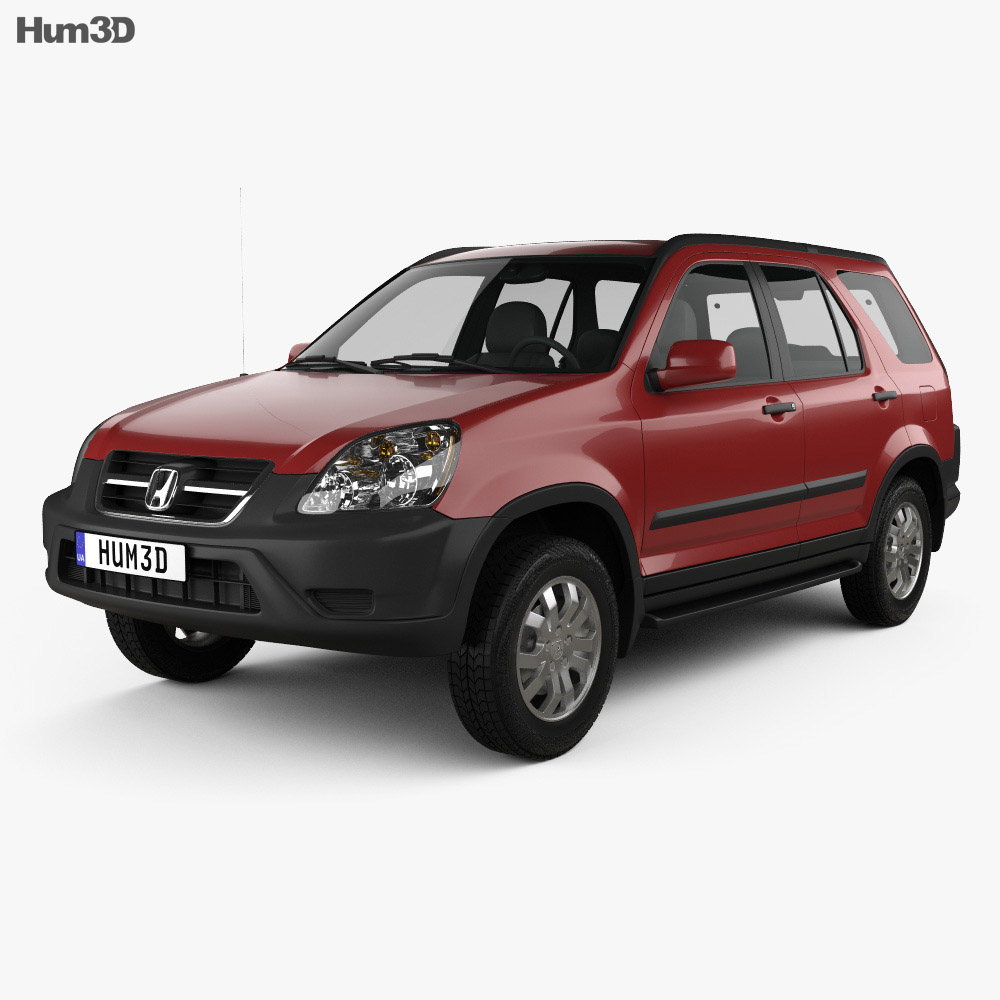 Honda CR-V EX 2003 3d model