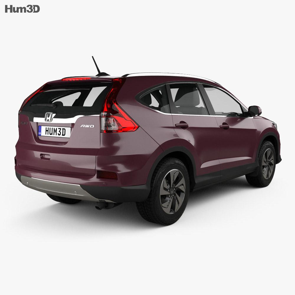 Honda CR-V 2015 3d model