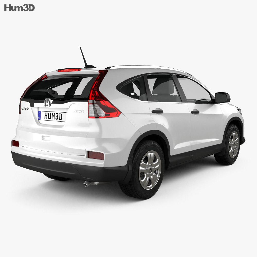 Honda CR-V LX 2015 3d model
